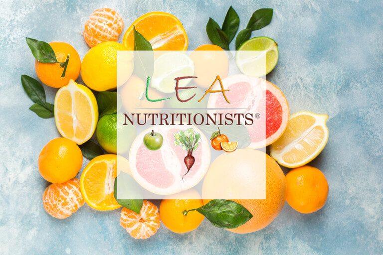 LEA nutritionists- izrabotka na uebsayt
